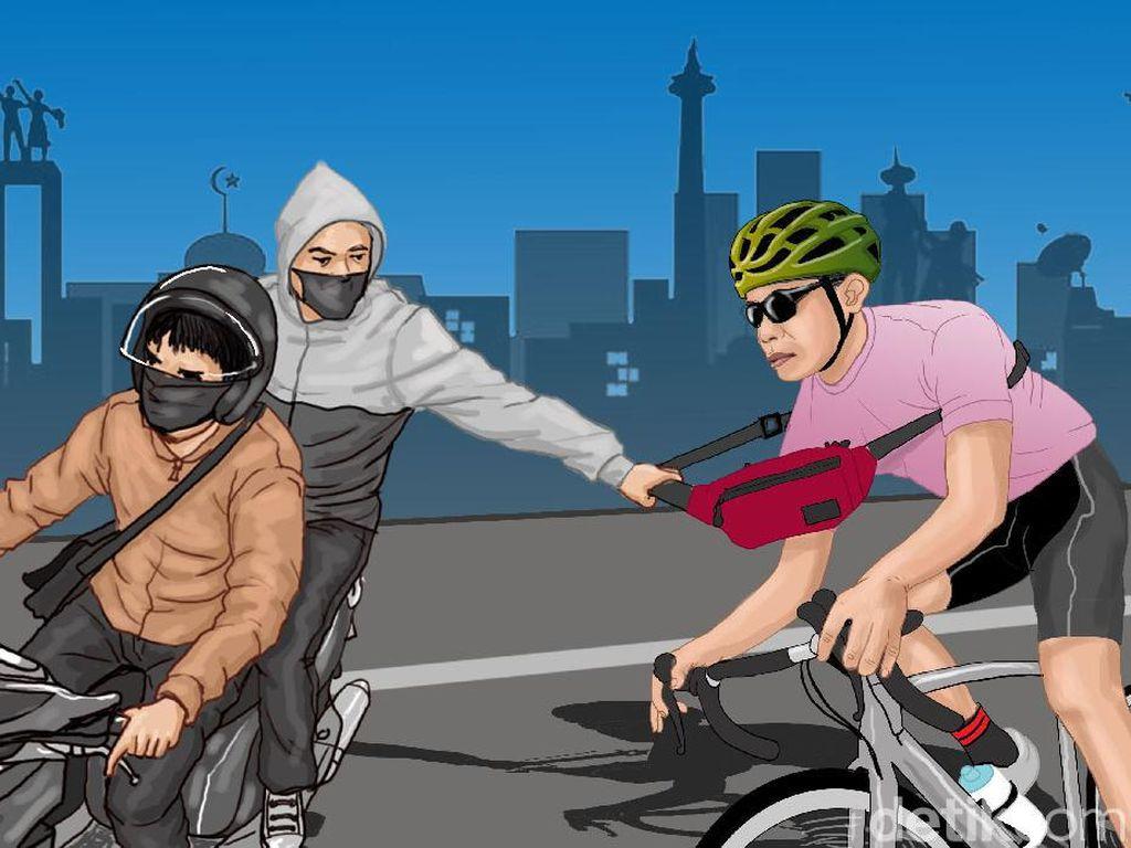 Polisi Ungkap Motif Pelaku Begal Sepeda Bawa Celurit di Bekasi