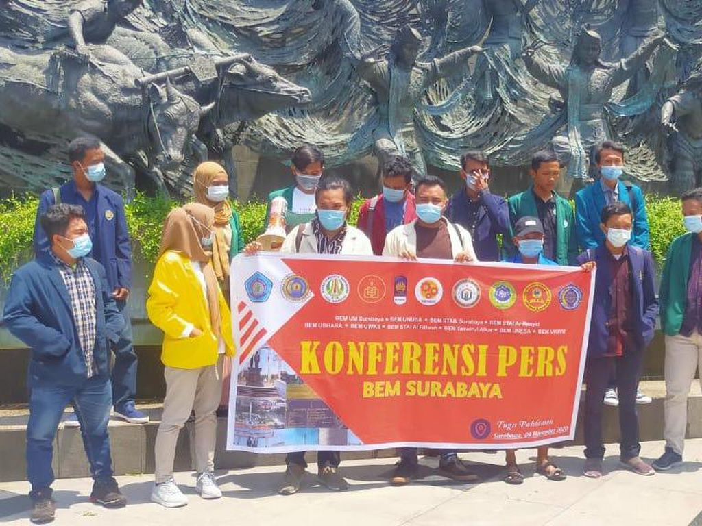 Forum BEM Surabaya Tegaskan Bukan Bagian dari GETOL Jatim