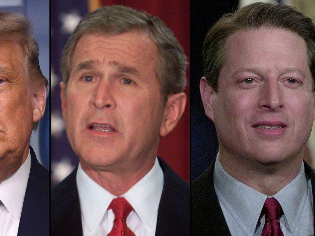 Trump Siap Gugat Kemenangan Biden, Mungkinkah Seperti Bush vs Al Gore?