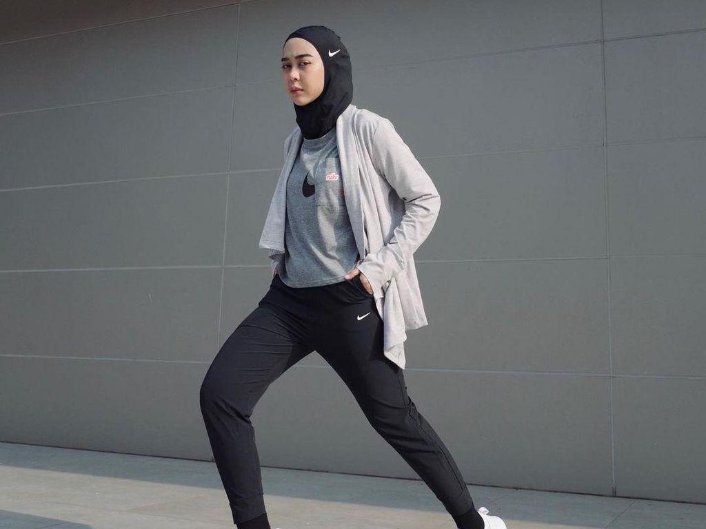 8 Inspirasi Style Hijab untuk Olahraga dari Selebgram