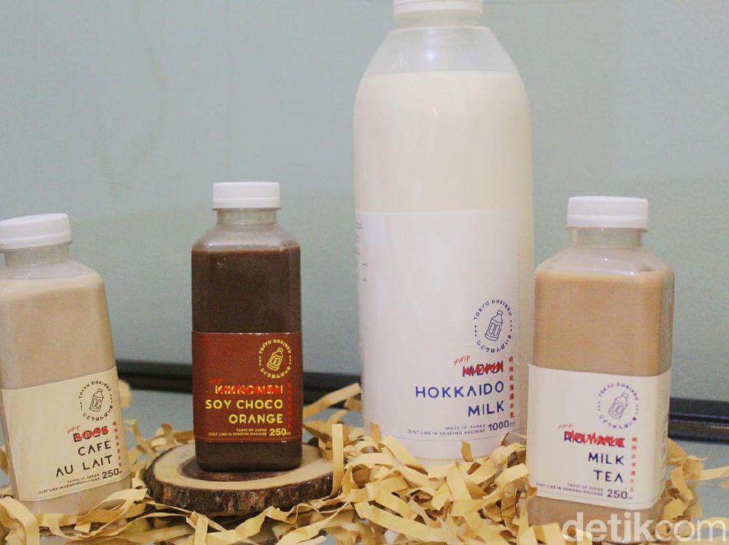Tokyu Dorinku: Creamy dan Lembut Hokkaido Milk dengan Berbagai Varian