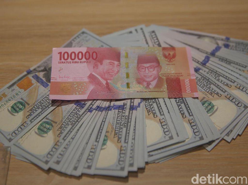 Dolar AS Gencet Rupiah ke Rp 14.162
