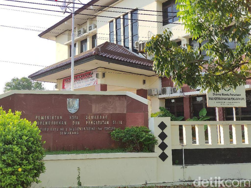 4 Pegawai Positif Corona, Kantor Disdukcapil Kota Semarang Ditutup