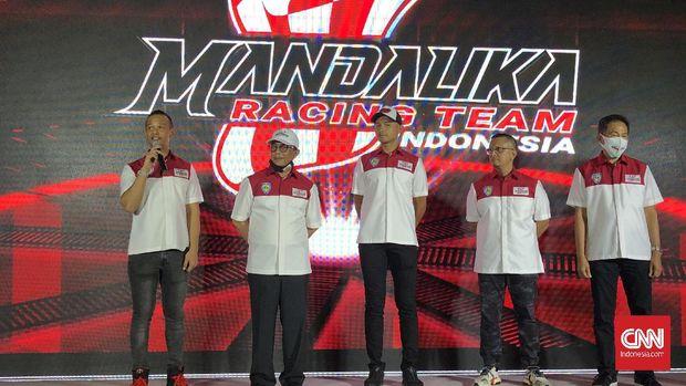 Mandalika Racing Team Indonesia. (CNN Indonesia/Titi Fajriyah)