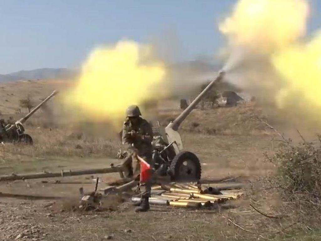 Heli Militer Rusia Ditembak Jatuh di Armenia, Azerbaijan Minta Maaf
