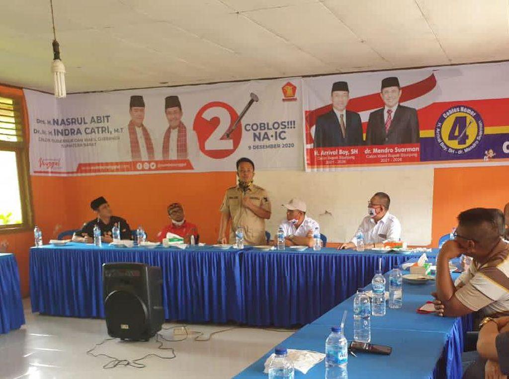 Warga Sijunjung Berharap Nasrul Abit-Indra Catri Bangun Pabrik Karet