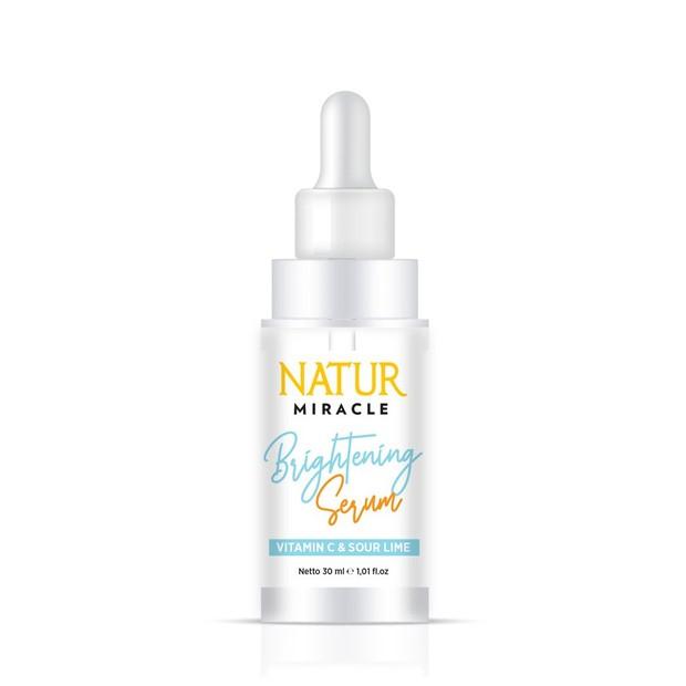 Natur Miracle Brightening Face Serum memiliki tekstur ringan dan cepat meresap/shoope.co.id