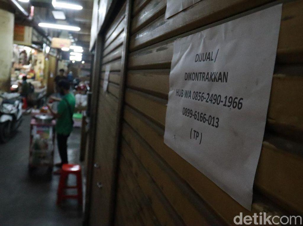 Pengunjung Sepi Imbas Corona, Sejumlah Pedagang di Pasar Baru Jual Kiosnya