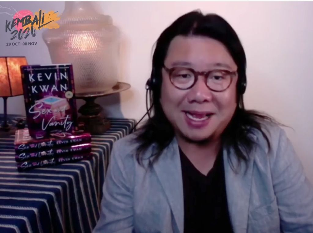 Kevin Kwan Tulis Novel Tebaru Sex and Vanity Kebut Hanya 4 Bulan