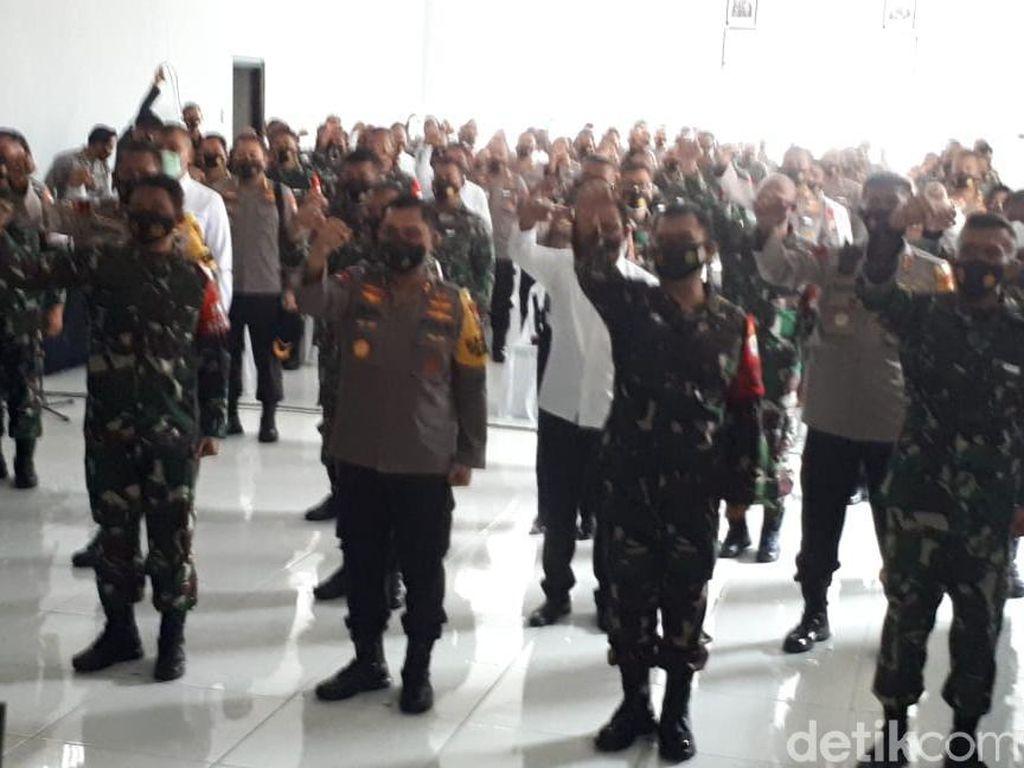 Polisi dan TNI di Tuban Diwajibkan Bersinergi dan Netral Saat Pilbup