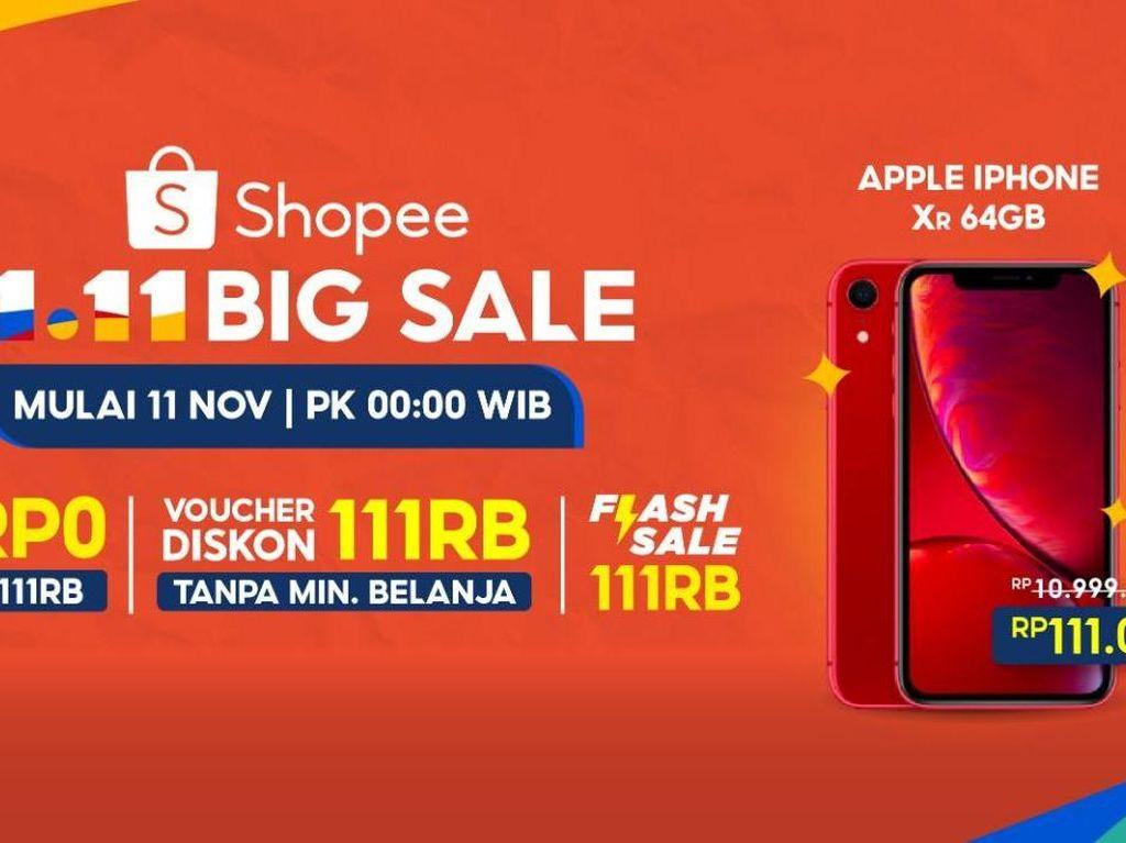 Ada 11 Promo Meriah di Puncak Kampanye Shopee 11.11 Big Sale!
