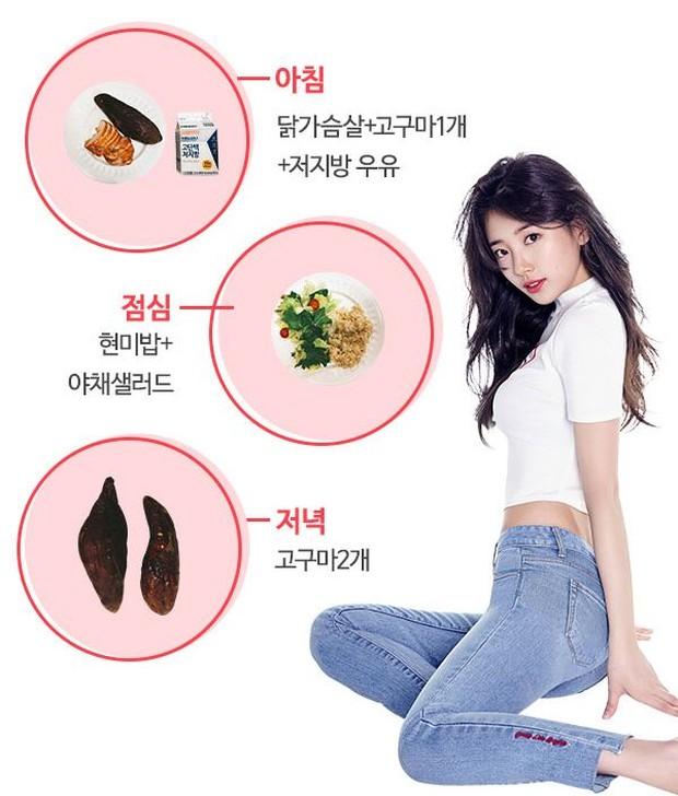 Tips Diet Tubuh Langsit Ala Bae Suzy