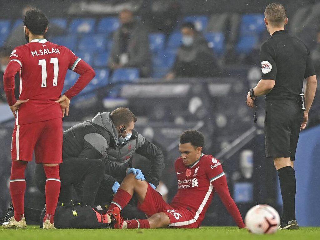 Liverpool Gagal Menang, Trent Cedera