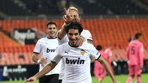 Drama Hukuman Penalti Valencia Bantai Real Madrid 4-1