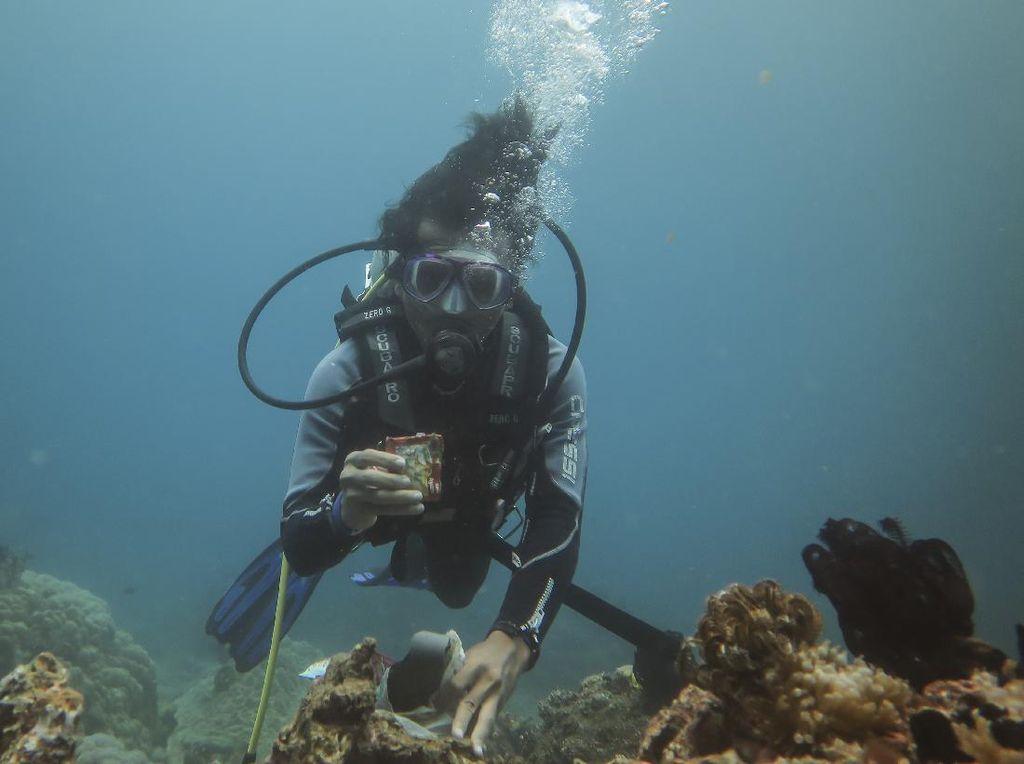 Aksi Bersih-bersih Laut di Tengah Peringatan Hari Pahlawan