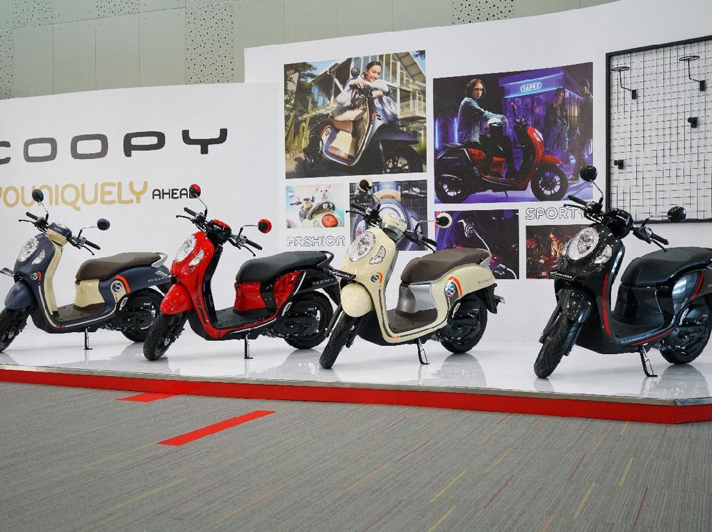 Honda Scoopy Baru Makin Keren dan Canggih, Harga Mulai dari Rp 19,95 Juta