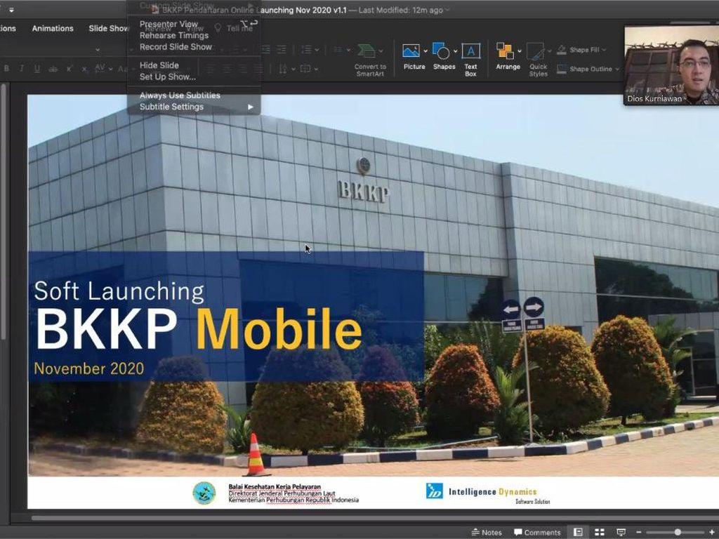 Permudah Medical Check Up Pelaut, Kemenhub Buat Aplikasi BKKP Mobile
