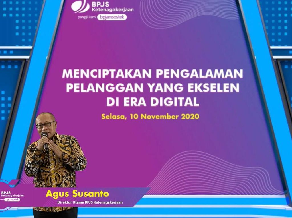 Strategi BPJAMSOSTEK Optimalisasi Layanan Saat Pandemi di Era Digital