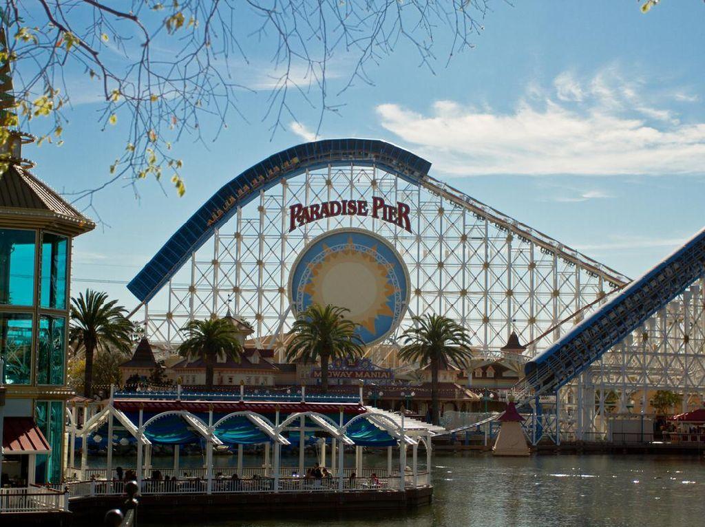 Taman Hiburan California Segera Buka, Wisatawan Dilarang Teriak