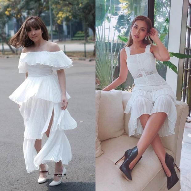 Gaya fashion Gisel dan Jedar