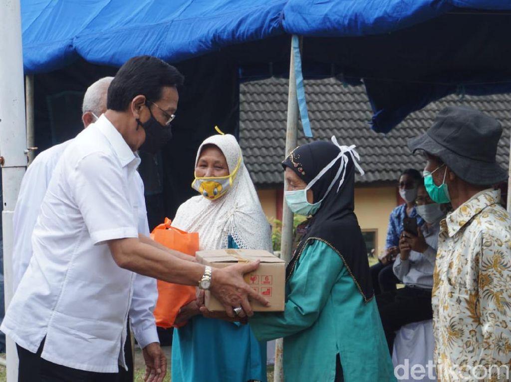 Sultan Minta Tak Ada Diskriminasi Agama di Barak Pengungsian Merapi