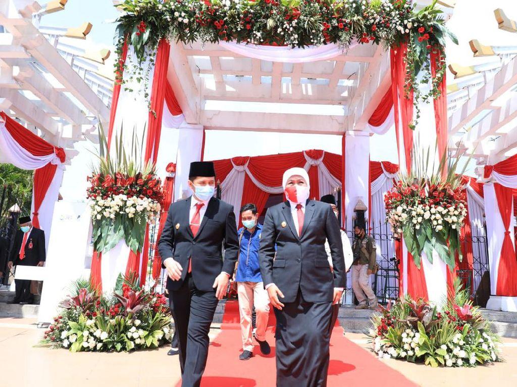 Gubernur Khofifah Ajak Masyarakat Jadi Pahlawan di Era Masa Kini