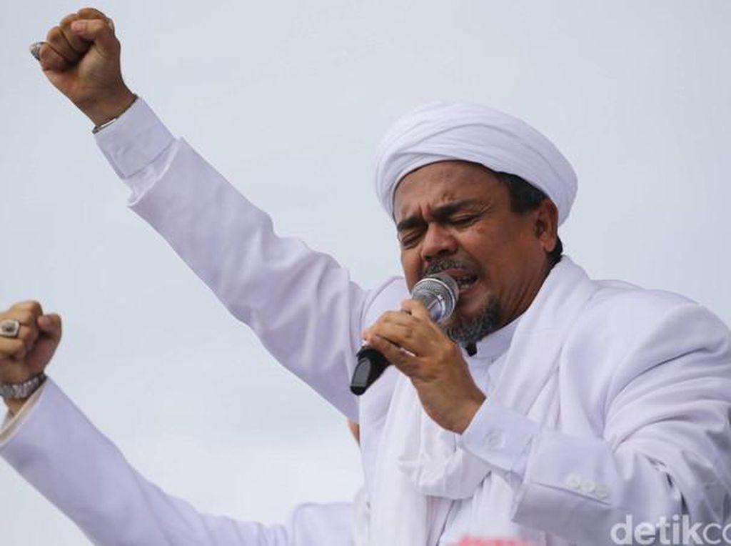 Kritik Bertubi-tubi untuk HRS saat Ceramah Lonte di Maulid Nabi