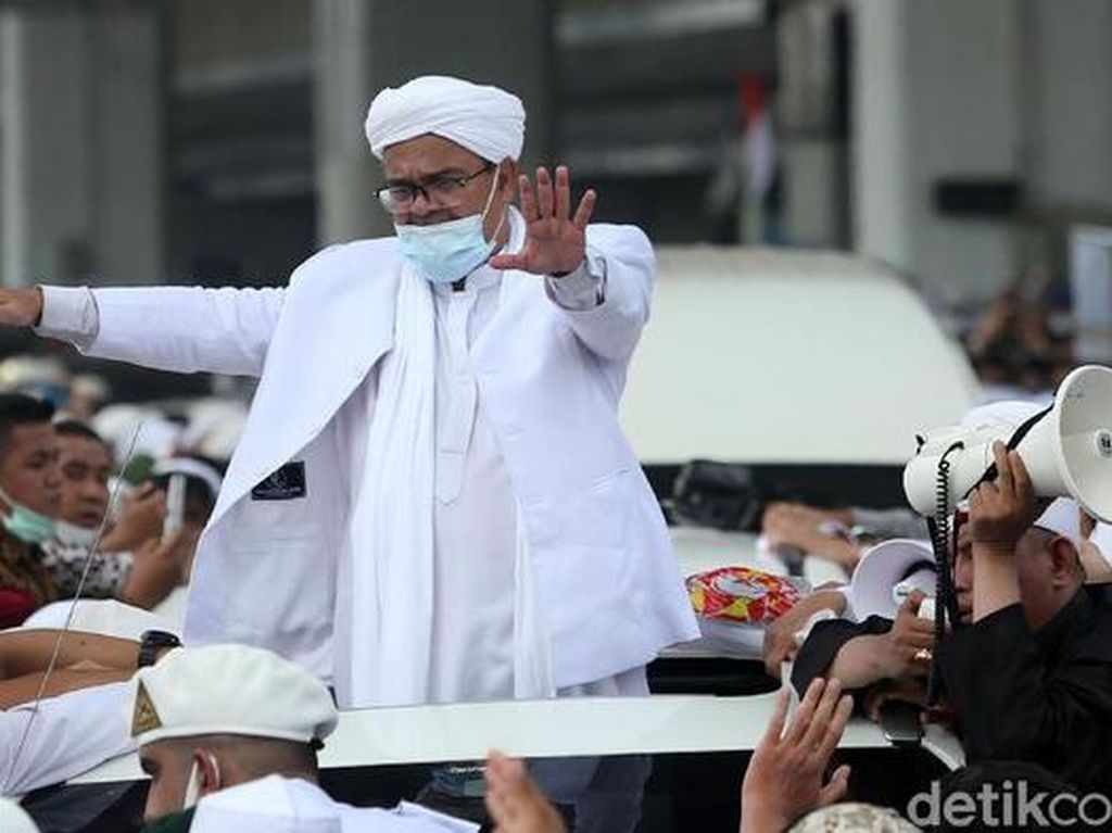 Lanjut Terus Penyidikan Meski Habib Rizieq Minta Maaf soal Kerumunan