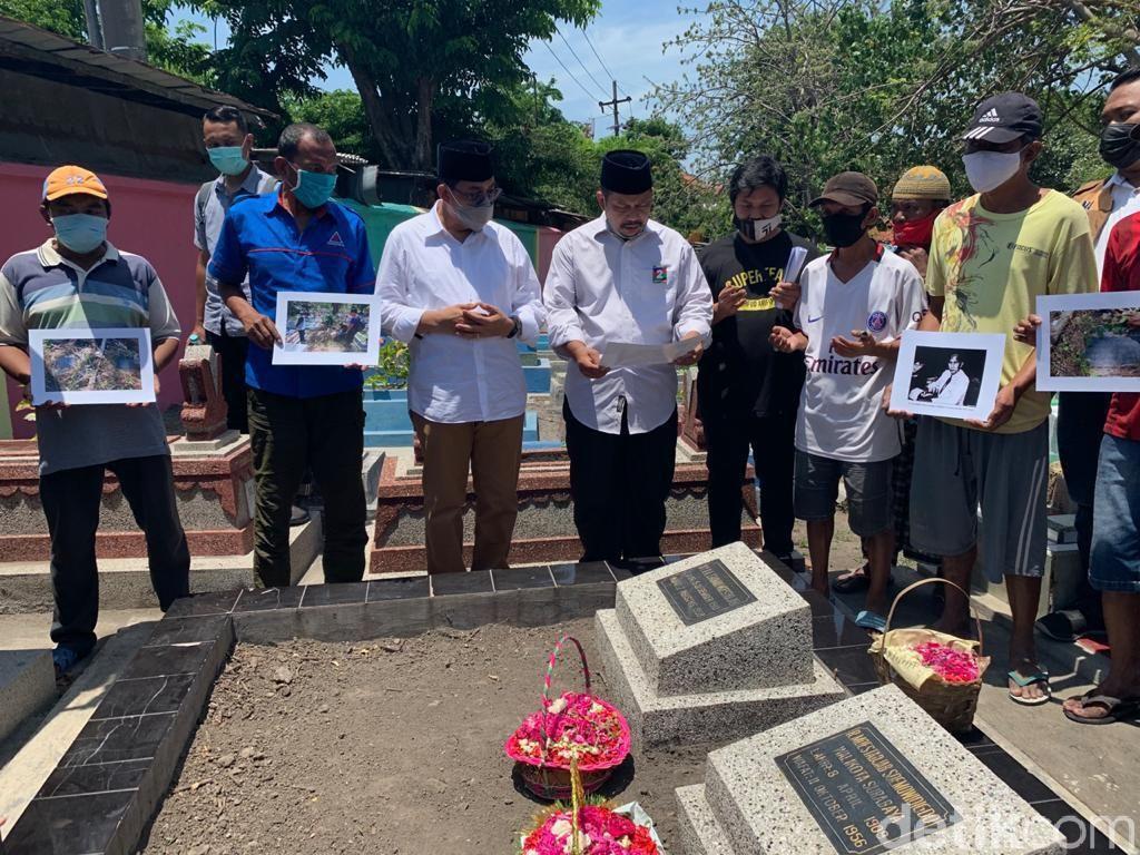 Hari Pahlawan, Machfud Arifin Ziarah ke Makam Wali Kota Surabaya ke-3