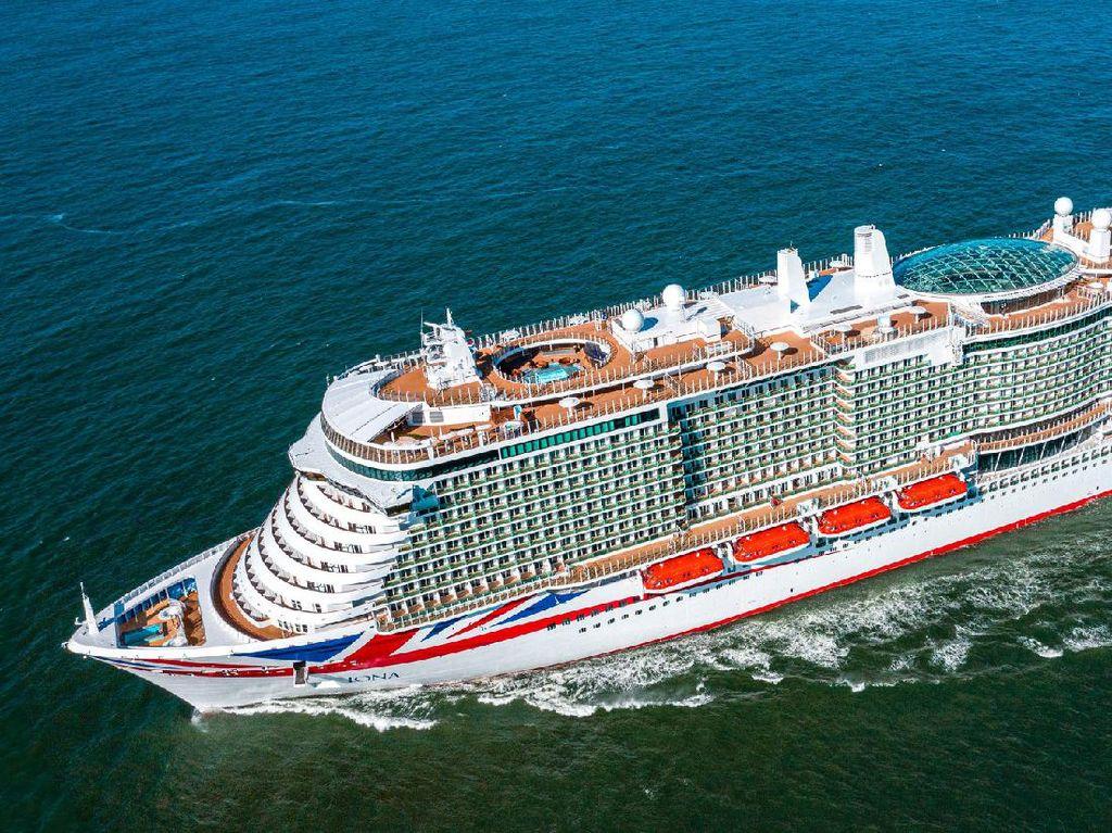 Ini Iona, Kapal Pesiar Terbesar Inggris Berkapasitas 7.000 Orang dan Ditenagai LNG