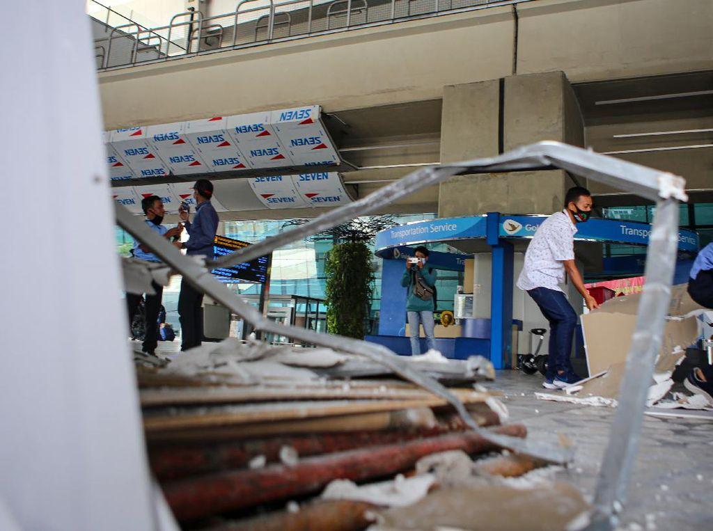 Ungkapan Maaf Pendukung Habib Rizieq Usai Fasilitas Bandara Rusak