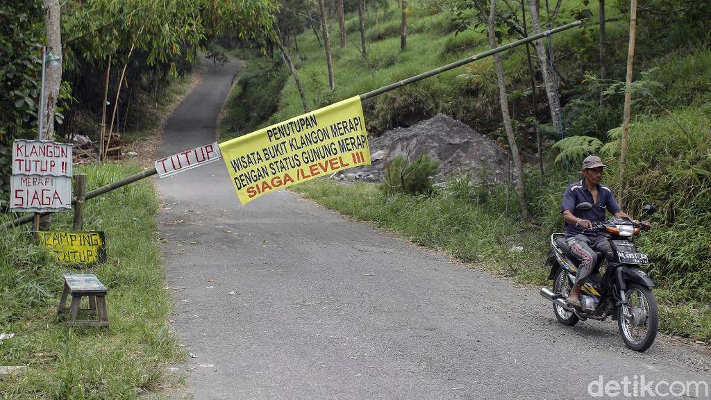 Merapi Siaga, Tempat Wisata di Daerah Rawan Bencana Ditutup