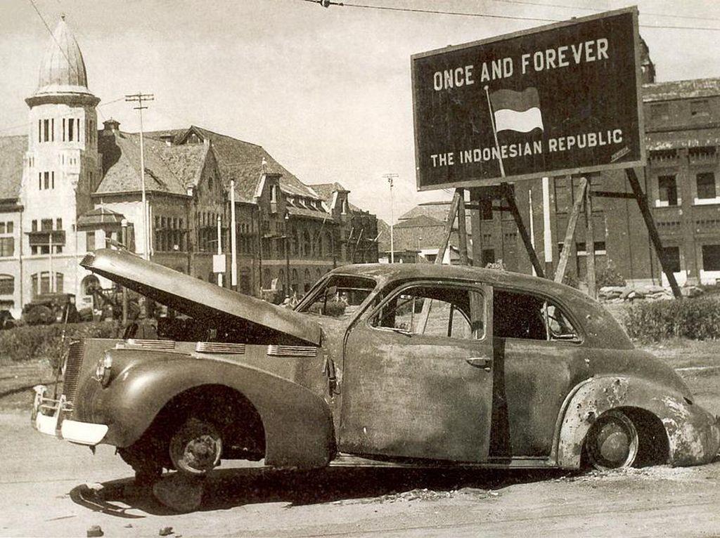 Hari Pahlawan: Mobil Jenderal Mallaby yang Jadi Saksi Pertempuran Surabaya 1945