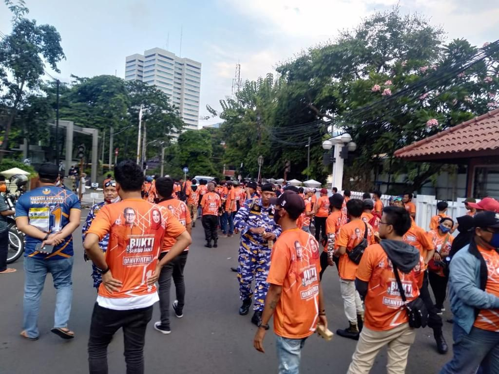 Polisi Masih Buru Pelaku Penusukan Pendukung Cawalkot Makassar