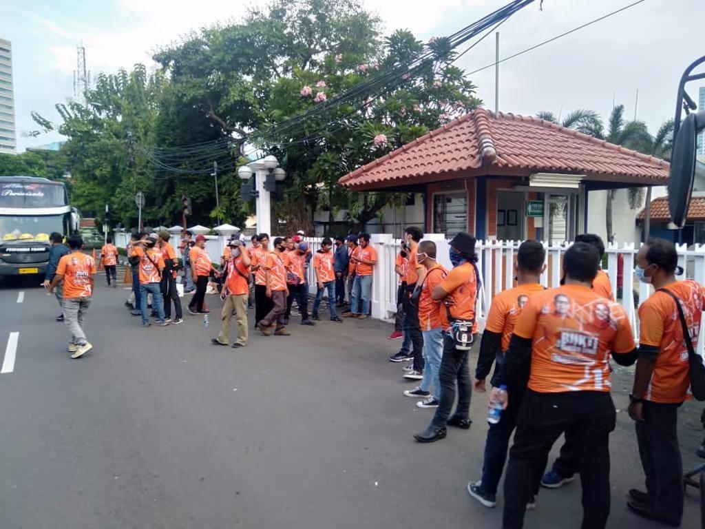 Polisi Kejar Penusuk Pendukung Paslon Pilwalkot Makassar di Palmerah