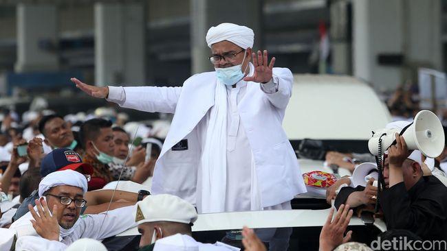 Saat Akhirnya Habib Rizieq Buka Suara soal Kondisi Kesehatan