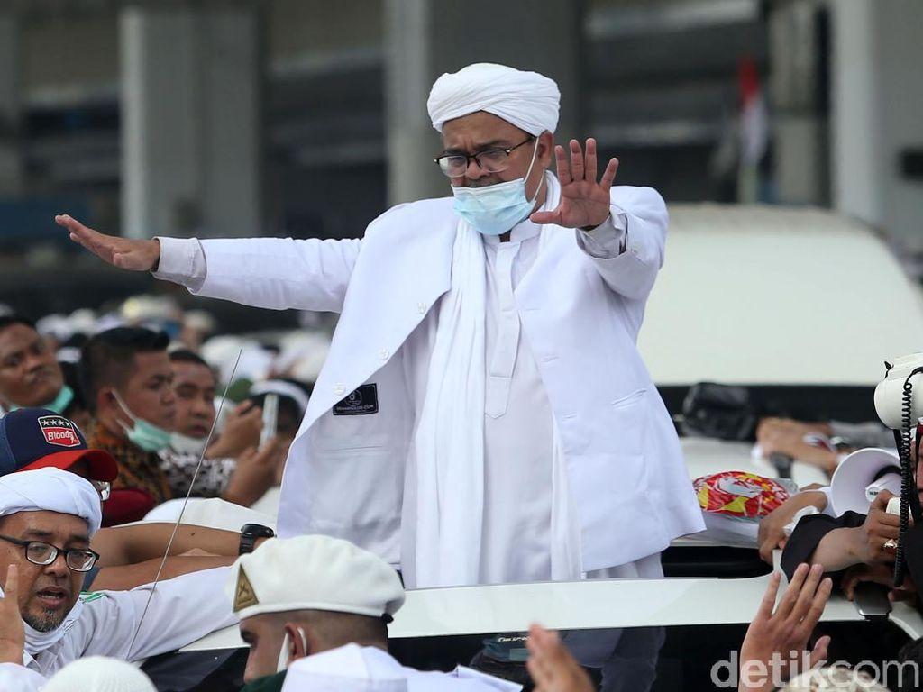 Simpang Siur Kabar Kesehatan Habib Rizieq Mulai Ketahuan
