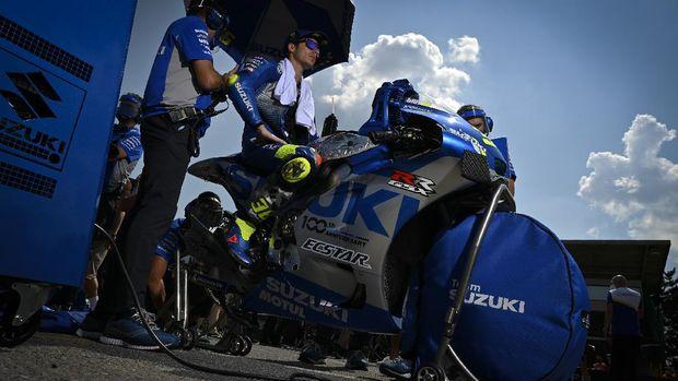 Joan Mir jelang balapan MotoGP Ceko 2020.