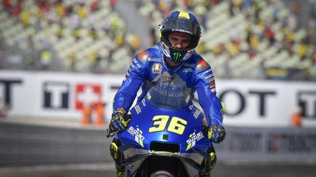 Joan Mir di MotoGP Emilia Romagna 2020.