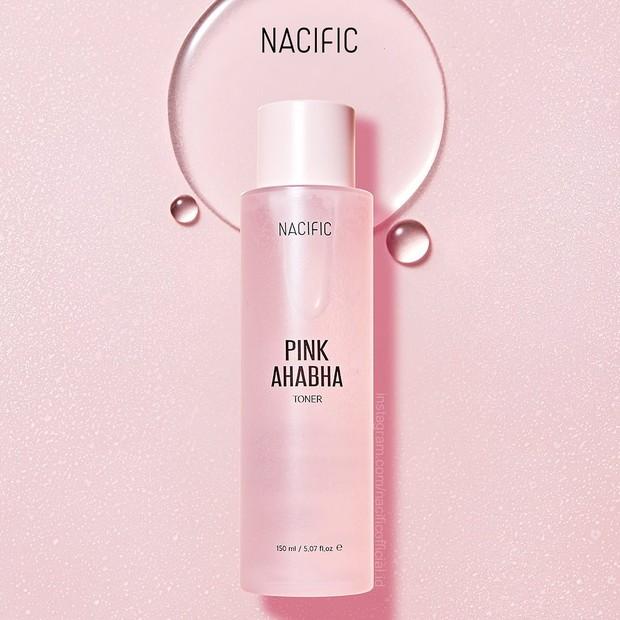 Toner dari nacific pink aha bha