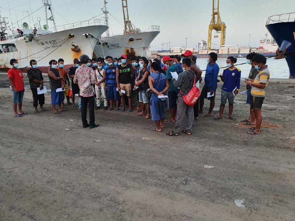 Kemenhub Pulangkan 13 ABK WNI di Kapal Ikan China dari Senegal