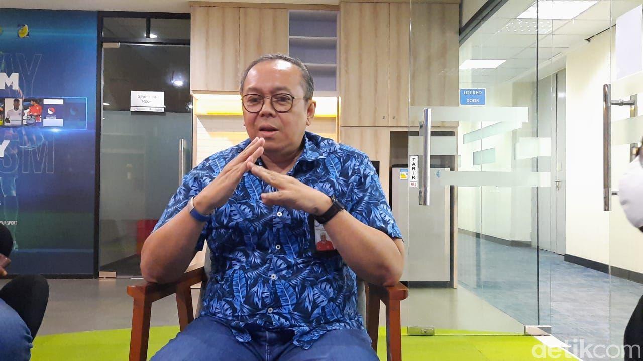 Bos PT Liga Indonesia Baru, Akhmad Hadian Lukita.