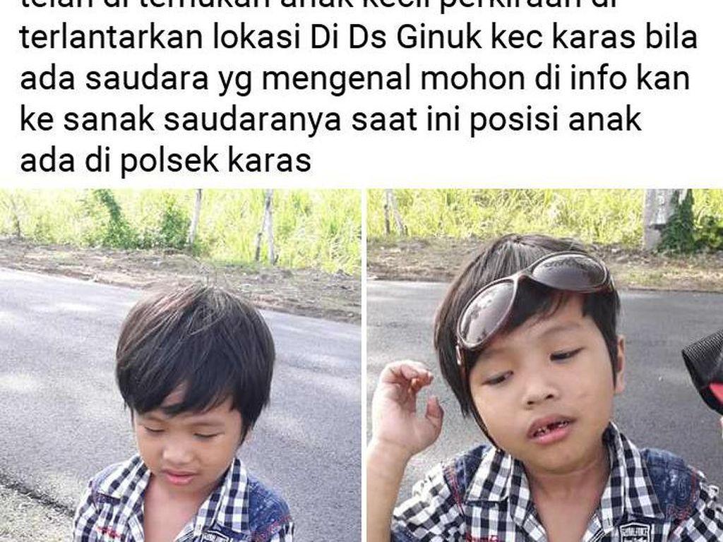 Bocah 3 Tahun Ditemukan Sendirian Cari Tumpangan di Magetan, Anak Siapa?