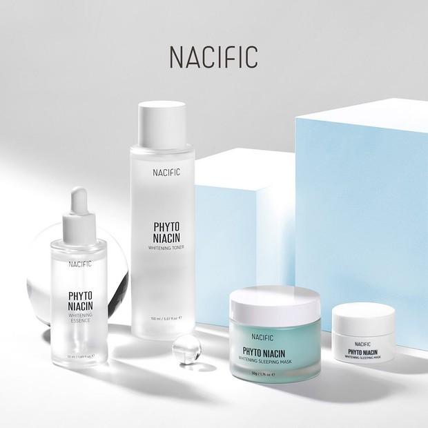 Nacific salah satu brand skincare yang memiliki rangakaian produk dengan kandungan bahan niacinamide