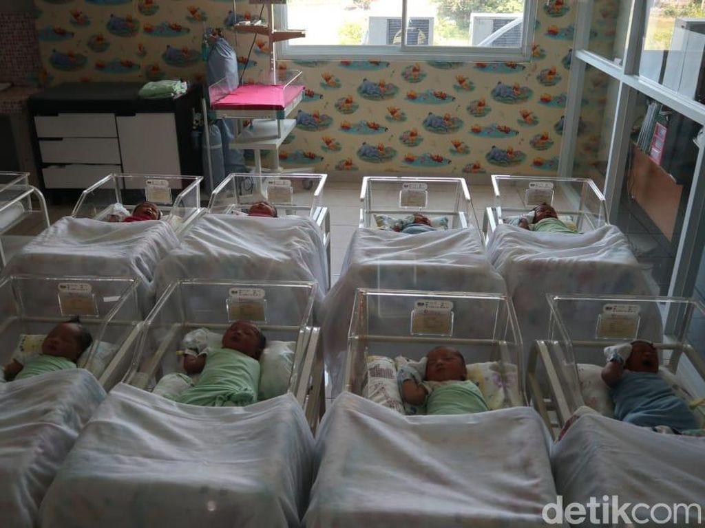 10 Bayi Lahir Tepat Tanggal Cantik 11-11 di Cirebon