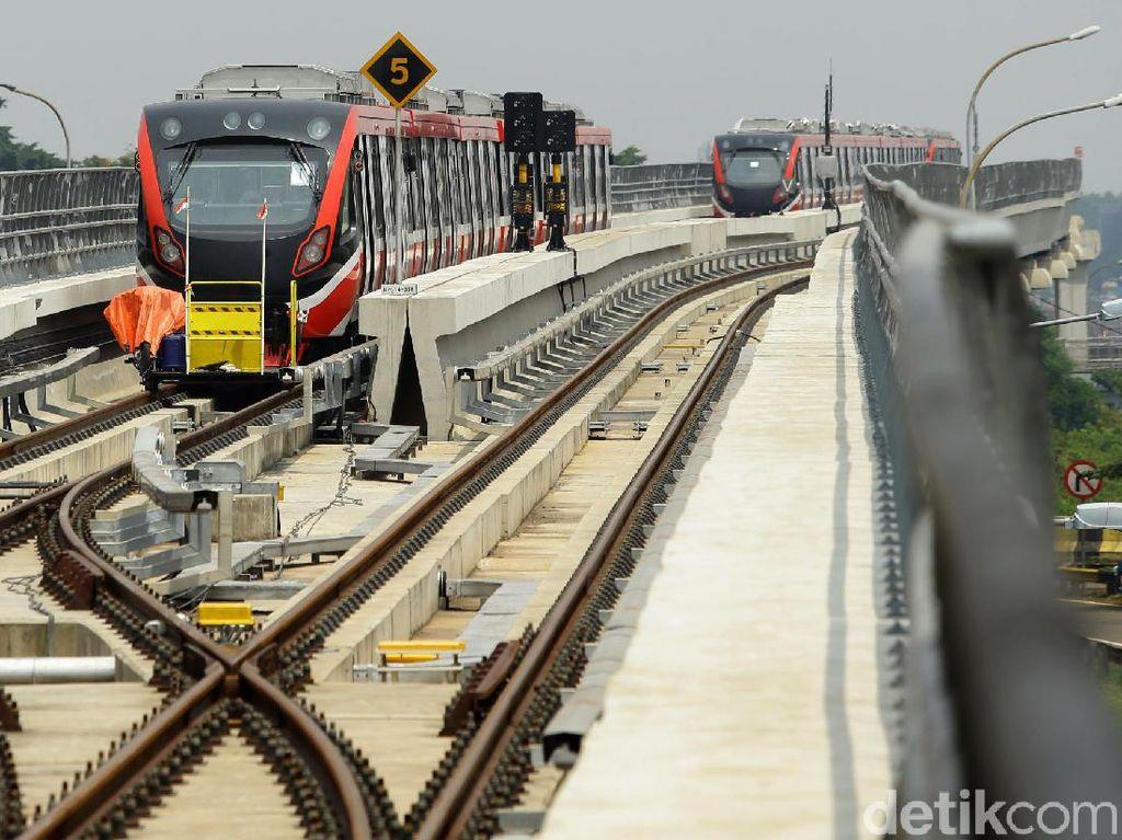 Pembangunan LRT Jabodebek Capai 80,7%, Ini Rinciannya