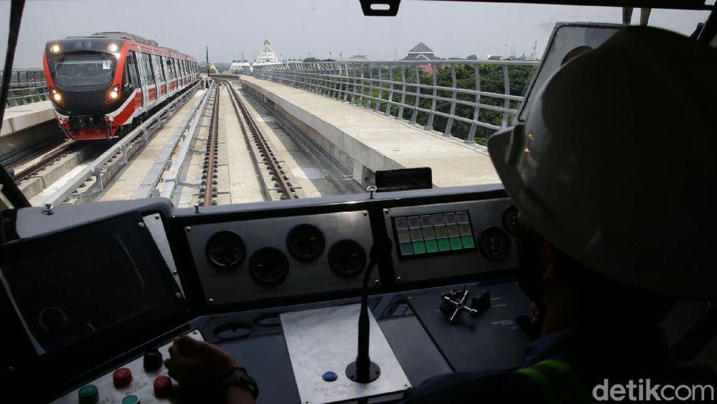 Beroperasi 2022, LRT Jabodebek Mulai Uji Coba