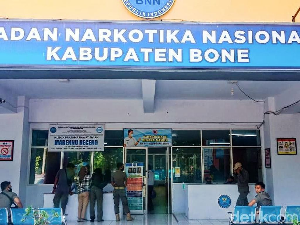 Oknum Polisi yang Ngamuk di BNN Bone Positif Narkoba