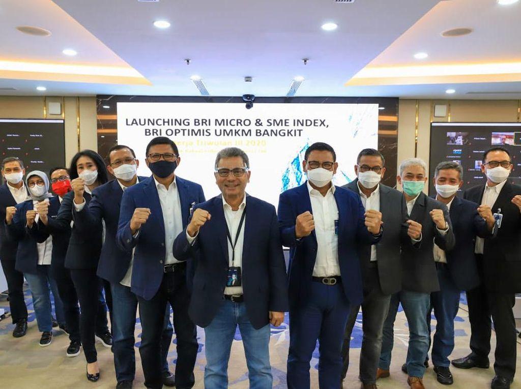 Launching BRI Micro & SME Index: BRI Optimistis UMKM Bangkit