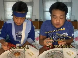 Cara Makan Risoles Orang Jepang dan Indonesia Ini Bikin Ngakak